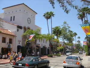 The Pavilion at Paseo Nuevo,  State St., Santa Barbara, CA